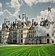 Chateau De Chenonceau Poster by Diana Angstadt