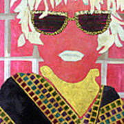 Cheap Sunglasses Poster by Diane Fine