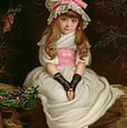Cherry Ripe Poster by Sir John Everett Millais