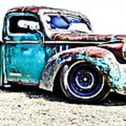 Chevrolet Pickup Poster by Phil 'motography' Clark