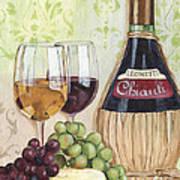 Chianti And Friends Poster by Debbie DeWitt