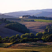 Chianti Hills In Tuscany Poster by Mathew Lodge