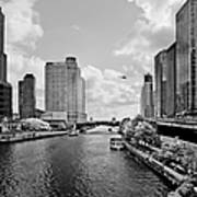 Chicago River - The River That Flows Backwards Poster by Christine Till