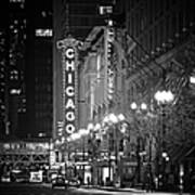 Chicago Theatre - Grandeur And Elegance Poster by Christine Till