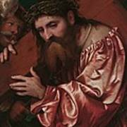 Christ Carrying The Cross Poster by Girolamo Romanino