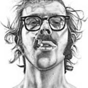 Chuck Close Poster by Kalie Hoodhood