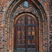 Church Door Poster by Antony McAulay