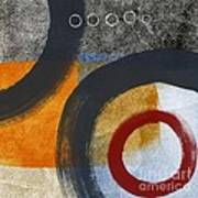 Circles 3 Poster by Linda Woods