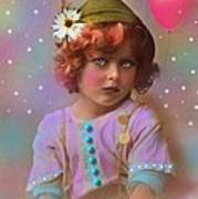 Circus Pixie Poster by Karen Morley