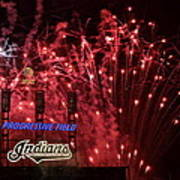 Cleveland Indians Poster by Frozen in Time Fine Art Photography
