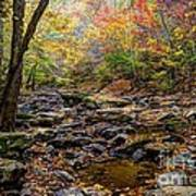 Clifty Creek In Hdr Poster by Paul Mashburn