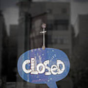 Closed Sleep Tight Poster by Scott Norris