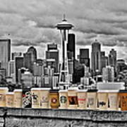 Coffee Capital Poster by Benjamin Yeager