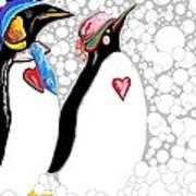 Cold Feet Warm Hearts Poster by Eloise Schneider