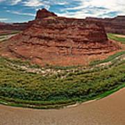 Colorado River Gooseneck Poster by Adam Romanowicz