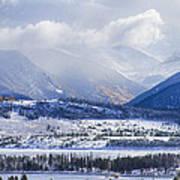 Colorado Rocky Mountain Autumn Storm Poster by James BO  Insogna