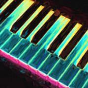 Colorful Keys Poster by Bob Orsillo