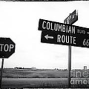 Columbian Boulevard Poster by John Rizzuto