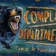 Complaint Department Poster by JQ Licensing