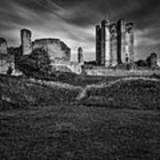 Conisbrough Castle Doncaster Poster by Ian Barber