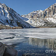Convict Lake Morning Poster by Sandra Bronstein