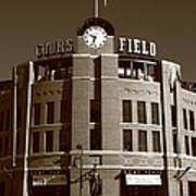 Coors Field - Colorado Rockies 20 Poster by Frank Romeo