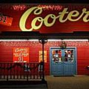 Cooters At Christmas Poster by Dan Sproul