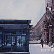 Copley Winter Poster by Deb Putnam