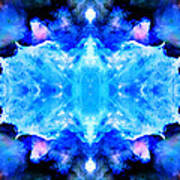 Cosmic Kaleidoscope 1 Poster by The  Vault - Jennifer Rondinelli Reilly
