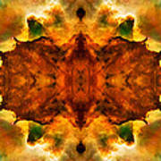 Cosmic Kaleidoscope 2  Poster by The  Vault - Jennifer Rondinelli Reilly