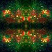 Cosmic Kaleidoscope 3 Poster by The  Vault - Jennifer Rondinelli Reilly