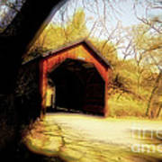 Covered Bridge 2 Poster by Cheryl Young
