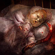 Creepy - Doll - Night Terrors Poster by Mike Savad