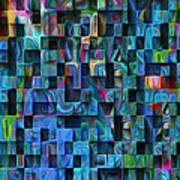 Cubed 3 Poster by Jack Zulli