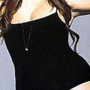 Curvy Beauties - Tara Lynn Poster by Malinda  Prudhomme