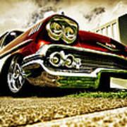 Custom Chevrolet Bel Air Poster by motography aka Phil Clark