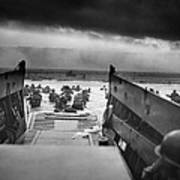 D-day Landing Poster by War Is Hell Store