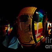Daft Punk Pharrell Williams  Poster by Marvin Blaine