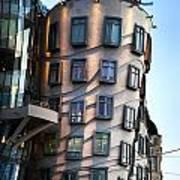 Dancing House In Prague Poster by Jelena Jovanovic