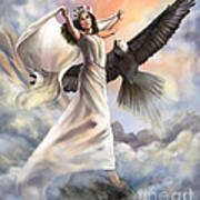 Dancing In Glory Poster by Tamer and Cindy Elsharouni