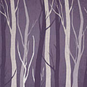 Dark Forest Poster by Aged Pixel