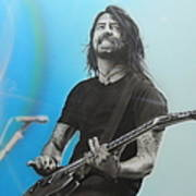 'dave Grohl' Poster by Christian Chapman Art
