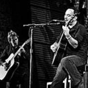 Dave Matthews And Tim Reynolds Poster by The  Vault - Jennifer Rondinelli Reilly