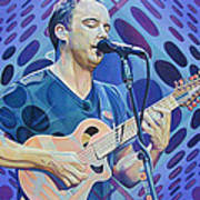 Dave Matthews Pop-op Series Poster by Joshua Morton