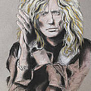 David Coverdale Poster by Melanie D