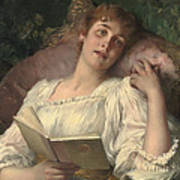 Daydreaming Poster by Conrad Kiesel