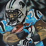 Deangelo Williams Poster by Ryan Doray