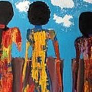 Demoiselles De Marrakesh Poster by Omar Hafidi