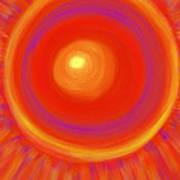 Desert Sunburst Poster by Daina White