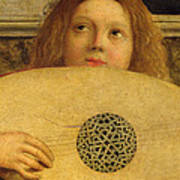 Detail Of The San Giobbe Altarpiece Poster by Giovanni Bellini